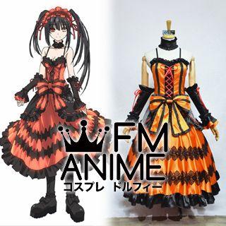 Date A Live Kurumi Tokisaki Dress Cosplay Costume