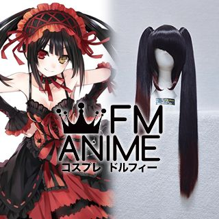 Date A Live Kurumi Tokisaki Cosplay Wig (With Ponytail)