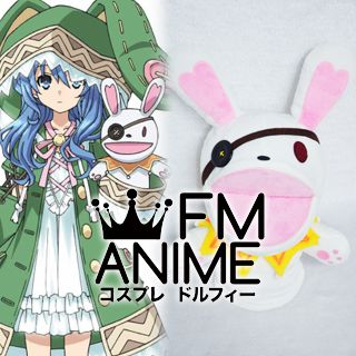 Date A Live Yoshino Yoshinon Handpuppet Plush Doll Rabbit Cosplay Accessories Props