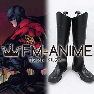 DC Comics Red Robin Cosplay Shoes Boots