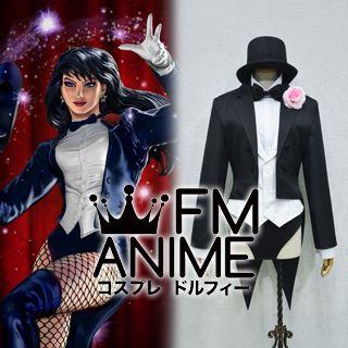 DC Comics Universe  Zatanna Zatara Cosplay Costume