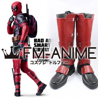 Deadpool (Marvel Film) Wade Wilson Deadpool Cosplay Shoes Boots