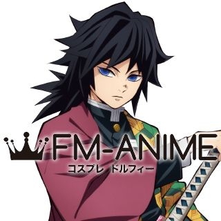 Demon Slayer: Kimetsu no Yaiba Giyu Tomioka Cosplay Wig