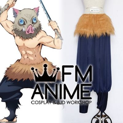 Demon Slayer: Kimetsu no Yaiba Inosuke Hashibira Trousers Cosplay Costume