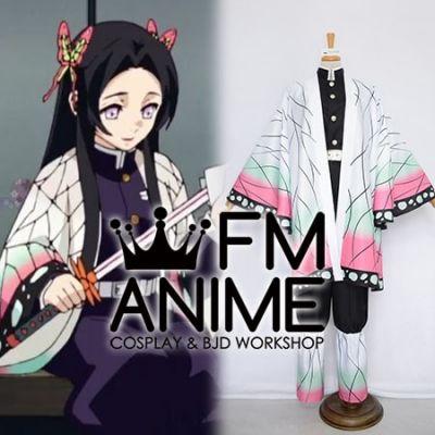 Demon Slayer: Kimetsu no Yaiba Kanae Kocho Military Uniform Kimono Cosplay Costume