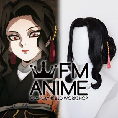 Demon Slayer: Kimetsu no Yaiba Muzan Kibutsuji Female version Kimono Cosplay Wig
