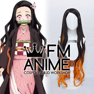 Demon Slayer: Kimetsu no Yaiba Nezuko Kamado Cosplay Wig