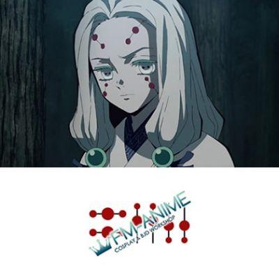 Demon Slayer: Kimetsu no Yaiba Older Sister Spider Demon Cosplay Tattoo Stickers
