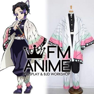 Demon Slayer: Kimetsu no Yaiba Shinobu Kochou Kimono Military Uniform Cosplay Costume