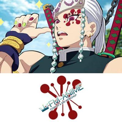 Demon Slayer: Kimetsu no Yaiba Tengen Uzui Cosplay Tattoo Stickers