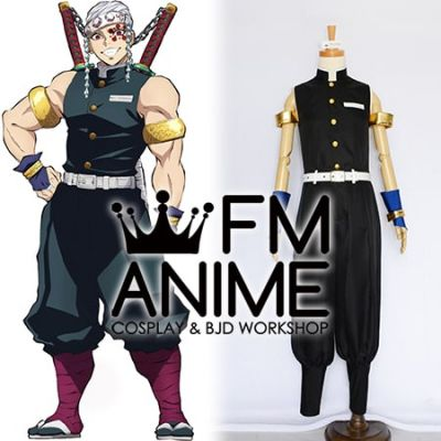 Demon Slayer: Kimetsu no Yaiba Tengen Uzui Military Uniform Cosplay Costume