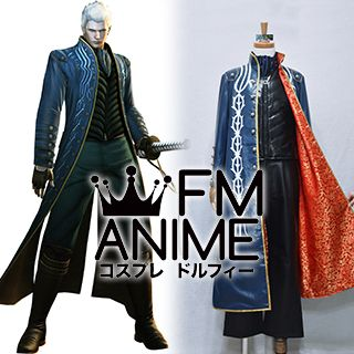 Devil May Cry 3 Vergil Cosplay Costume