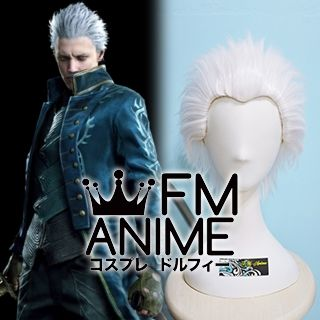 Devil May Cry 5 Vergil Cosplay Wig