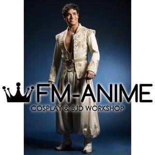 Aladdin Disney Musical Prince Ali Cosplay Costume