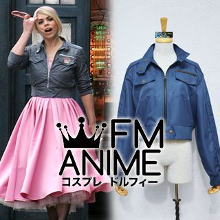 Doctor Who Series 2 Rose Tyler Coat Cosplay Costume