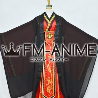 Dollfie BJD SD Red & Black Chinese Ancient Costume Cosplay