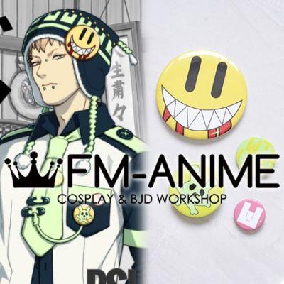 DRAMAtical Murder Noiz Usagimodoki Smile Pin Badges Cosplay Accessories