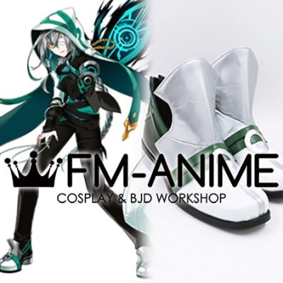 Elsword Ainchase Ain Ishmael Lofty: Wanderer Cosplay Shoes