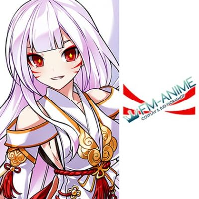 Elsword Ara Haan Asura Apsara Celestial Fox Mode Cosplay Tattoo Stickers