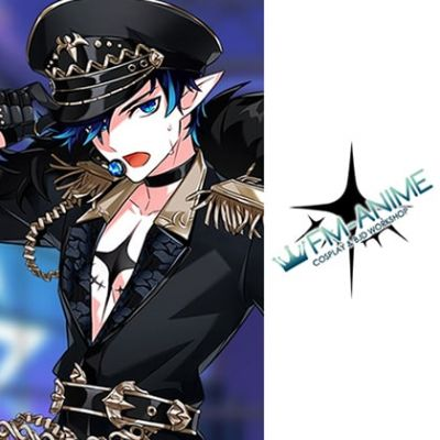 Elsword Ciel El★Star MAZE Cosplay Tattoo Stickers