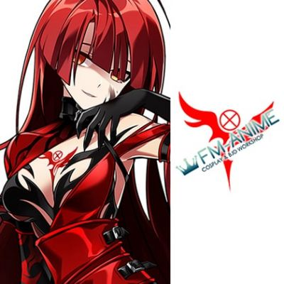 Elsword Elesis Bloody Queen Cosplay Tattoo Stickers