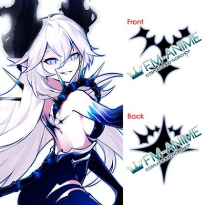 Elsword Luciela Lu R. Sourcream Diabla Altar of Evil Cosplay Tattoo Stickers