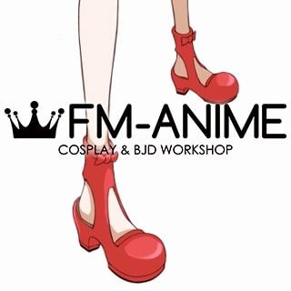 Eureka Seven Anemone Cosplay Shoes