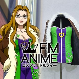 Fairy Tail Evergreen Cosplay Costume