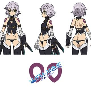 Fate/Apocrypha Assassin of Black Cosplay Tattoo Stickers