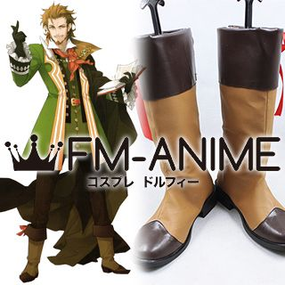 Fate/Apocrypha Caster of red William Shakespeare Cosplay Shoes Boots
