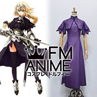 Fate/Apocrypha Fate/Grand Order Jeanne d'Arc Cosplay Costume (Purple Version)