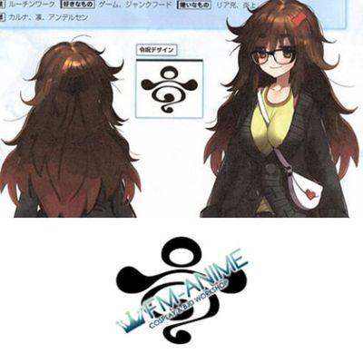 Fate/Extra CCC Jinako Carigiri Command Spell Cosplay Tattoo Stickers