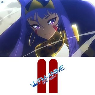 Fate/Grand Order Nitocris Cosplay Tattoo Stickers