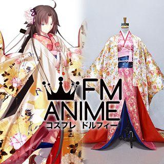 Fate/Grand Order Shiki Ryougi (Saber Class) Kimono Cosplay Costume