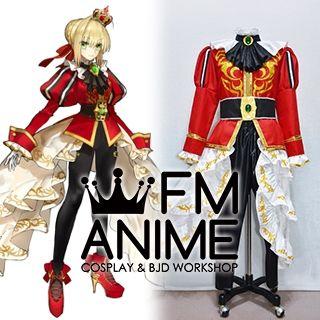 Fate/Extella Link Nero Claudius Red Saber Crimson Noble 紅の貴公子 Cosplay Costume