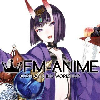 Fate/Grand Order Shuten Douji Assassin BJD Dolls Wig