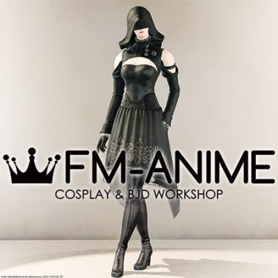 Final Fantasy 14 YoRHa Type-51 Aiming Dress Cosplay Costume