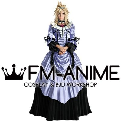 Final Fantasy VII Remake FFVII R Cloud Strife Ball Dress Cosplay Costume