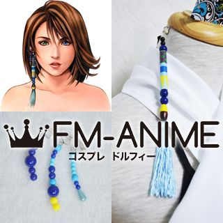 Final Fantasy X Yuna Earrings Cosplay Accessories Props