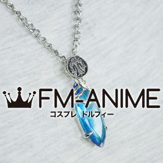 Final Fantasy X Yuna Blue Stone Necklace Cosplay Accessories