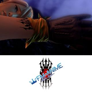 Final Fantasy XIII Hope Estheim L'Cie Cosplay Tattoo Stickers
