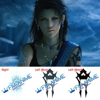Final Fantasy XIII Oerba Yun Fang Cosplay Tattoo Stickers