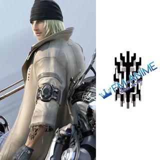Final Fantasy XIII Snow Villiers L'Cie Brand Cosplay Tattoo Stickers