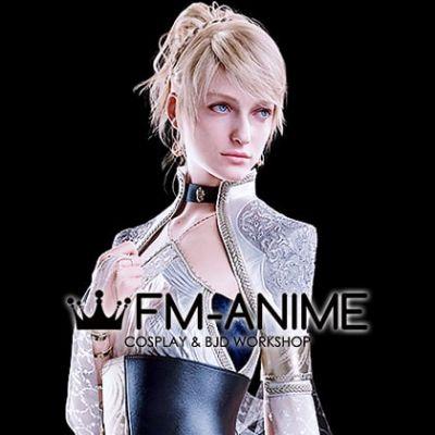 Final Fantasy XV Lunafreya Nox Fleuret Cosplay BJD Dolls Wig