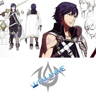 Fire Emblem Awakening Chrom Cosplay Tattoo Stickers