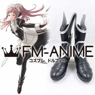 Fire Emblem Fates Felicia Cosplay Shoes Boots