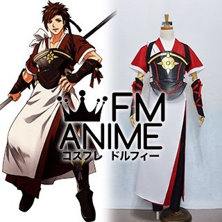 Fire Emblem Fates Heroes Shiro Shinonome Cosplay Costume