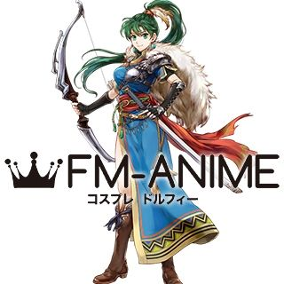 Fire Emblem Heroes Legendary Lyn Lady of the Wind Cosplay Costume