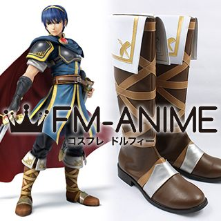 Fire Emblem: New Mystery of the Emblem ~Heroes of Light and Shadow~ Marth Cosplay Shoes Boots