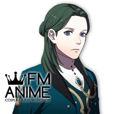 Fire Emblem: Three House Linhardt von Hevring After 5 Year Time Skip Cosplay Wig